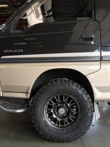 BF Goodrich KO2's for Mitsubishi Delica
