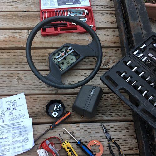 Steering Wheel Upgrade for Van