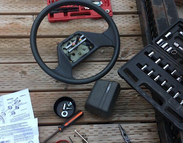 Steering Wheel Upgrade