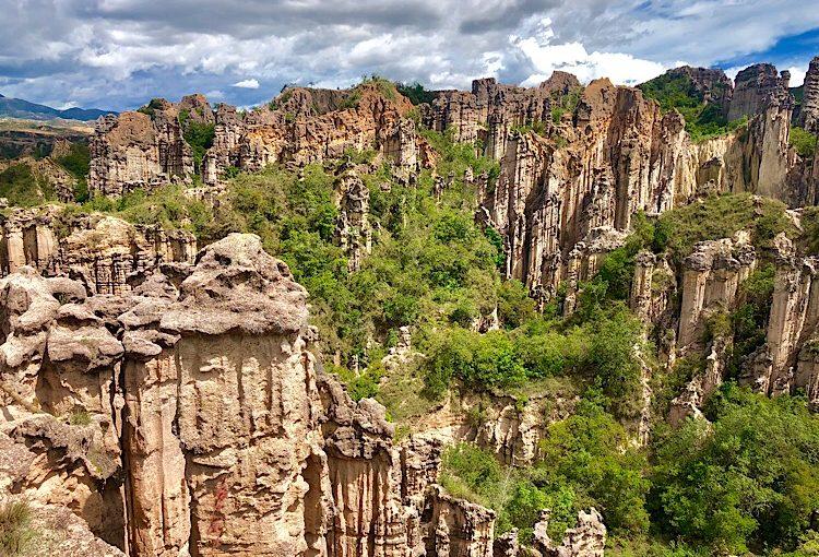 Los Estoraques National Park, Colombia